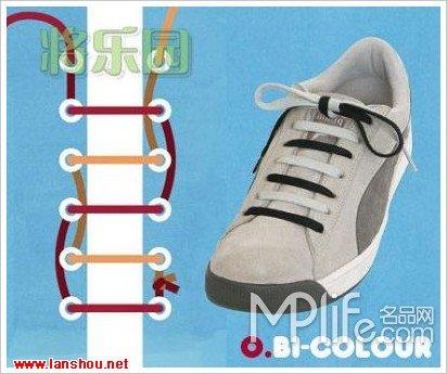穿鞋带15种方法 你见过几种?图解:我要问你