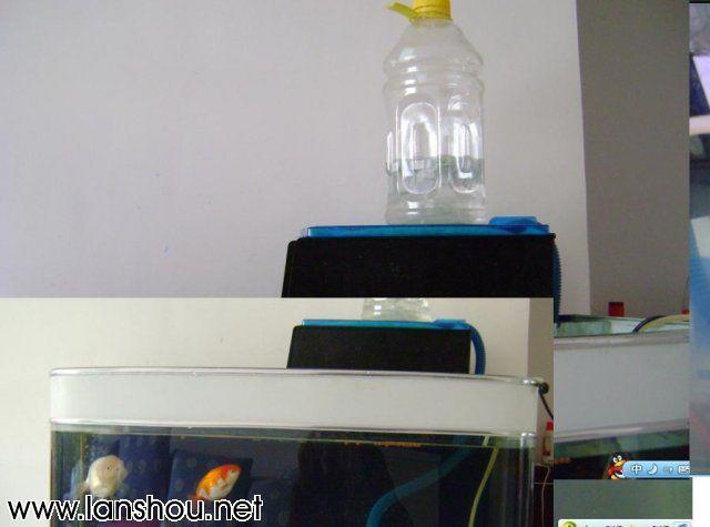 矿泉水瓶+三合一水泵简单改造